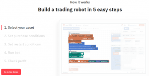 Deriv DBot. Free - No Cost - Binary Options Bot