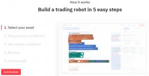Deriv DBot. Free - No Cost - Binary Options Bot